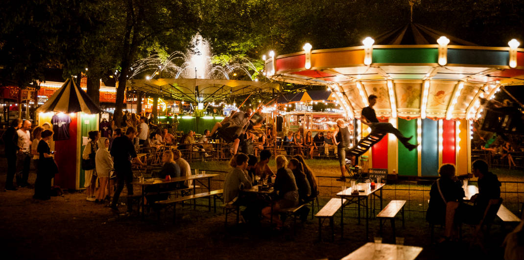 Summer festivals The Netherlands. De Parade, Utrecht (photo by Joep van Aert) | Your Dutch Guide