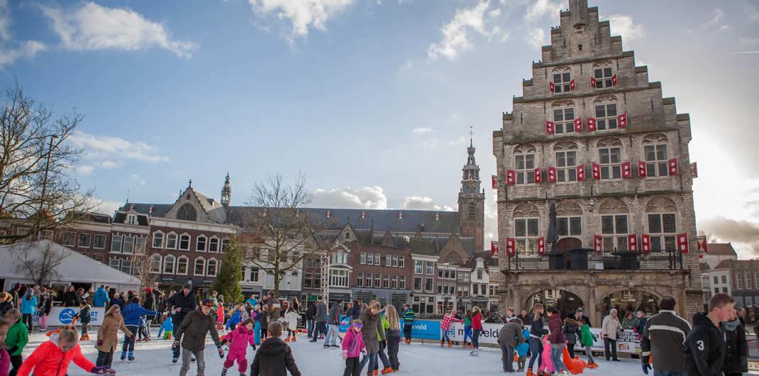 Gouda in winter | Gouda, The Netherlands