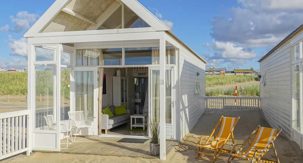 Beach house The Netherlands, Kusthuisjes Katwijk aan Zee