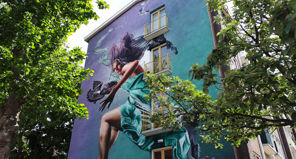Amsterdam street art   Your Dutch Guide