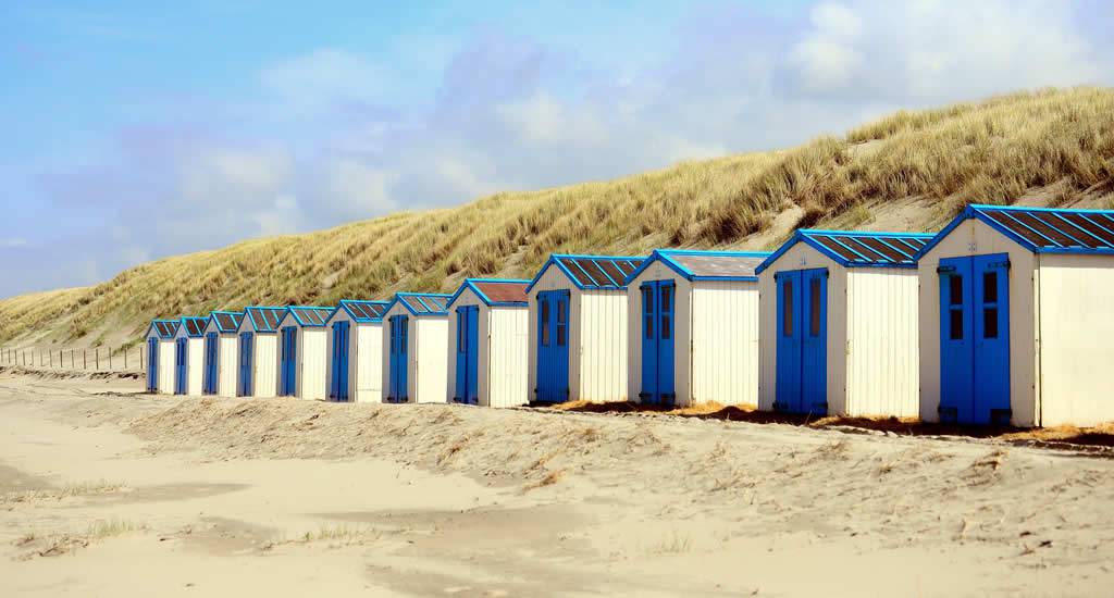 Beach huts on Texel island, The Netherlands | Your Dutch Guide