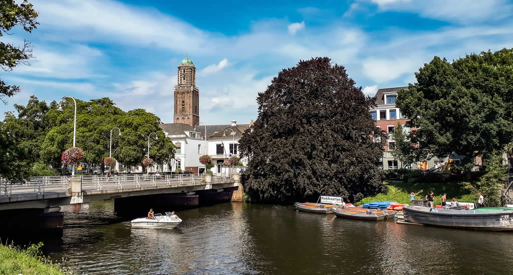 Zwolle by boat | Your Dutch Guide