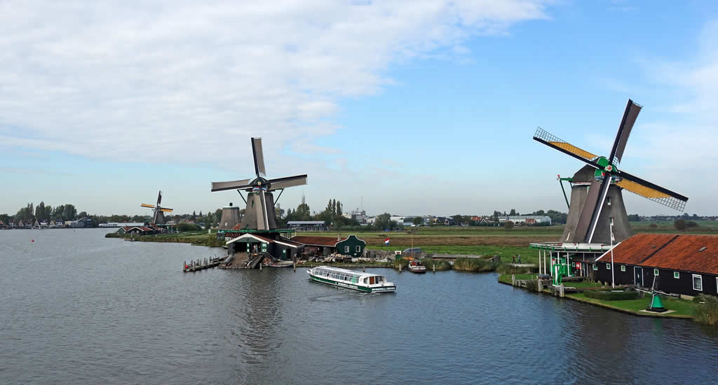 Zaanse Schans (windmills Amsterdam), Netherlands